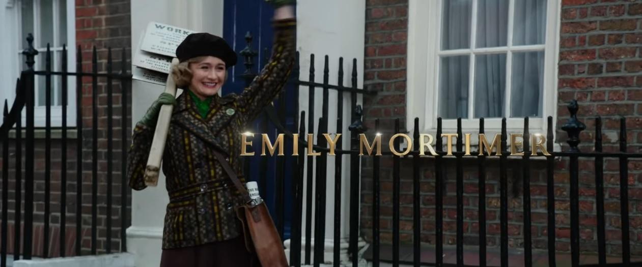 Il ritorno di Mary Poppins - Cast - Attori - Emily Mortimer - Film Disney 2018 - Film Disney Natale
