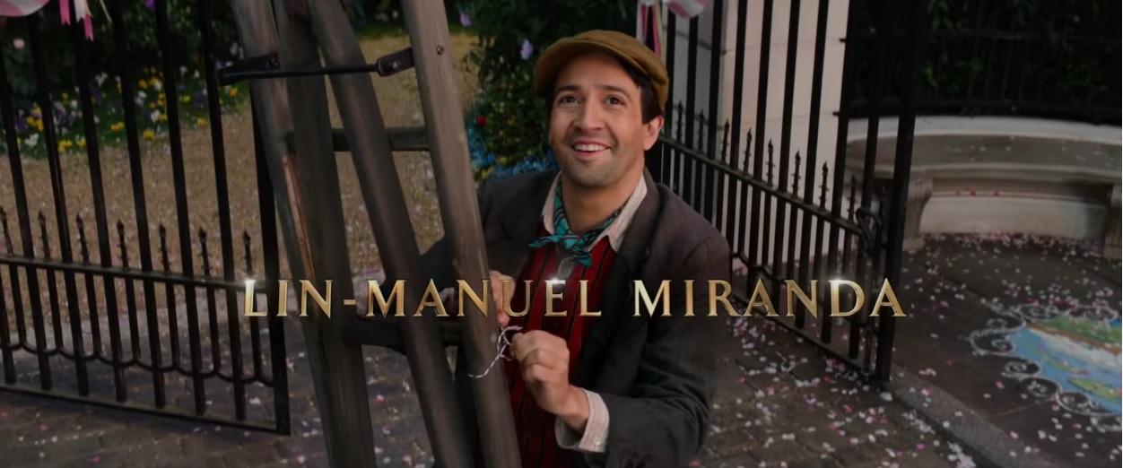 Il ritorno di Mary Poppins - Cast - Attori - Lin-Manuel Miranda - Film Disney 2018 - Film Disney Natale