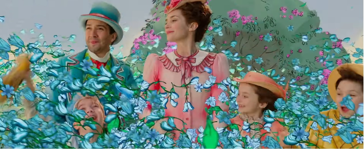 Il ritorno di Mary Poppins - Trailer - Fantasia - Film Disney 2018 - Film Disney Natale - Mary Poppins