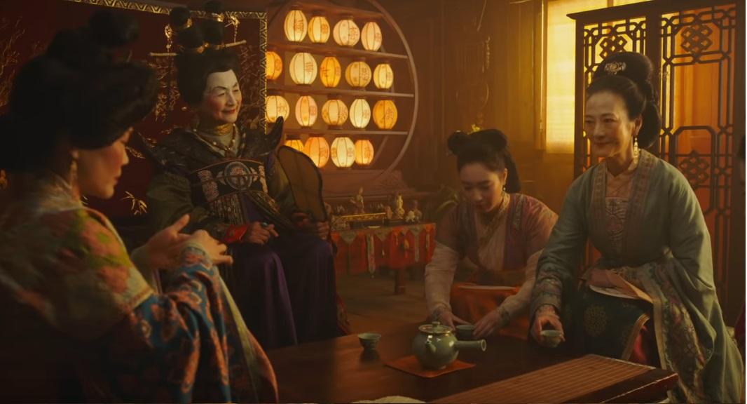 Mulan film Disney remake live action film famiglia 2020 - Le donne con la mezzana