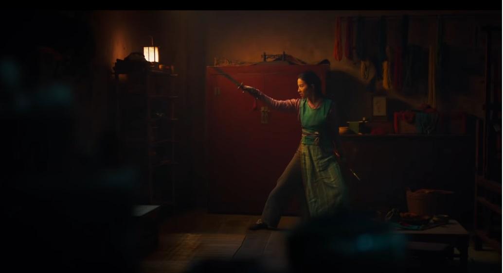Mulan film Disney remake live action film famiglia 2020 - Gli allenamenti di Mulan