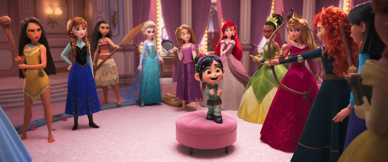 Principesse Disney  - Ralph Spacca Internet - Ralph Breaks the internet clip - ralph 2 - Film Disney