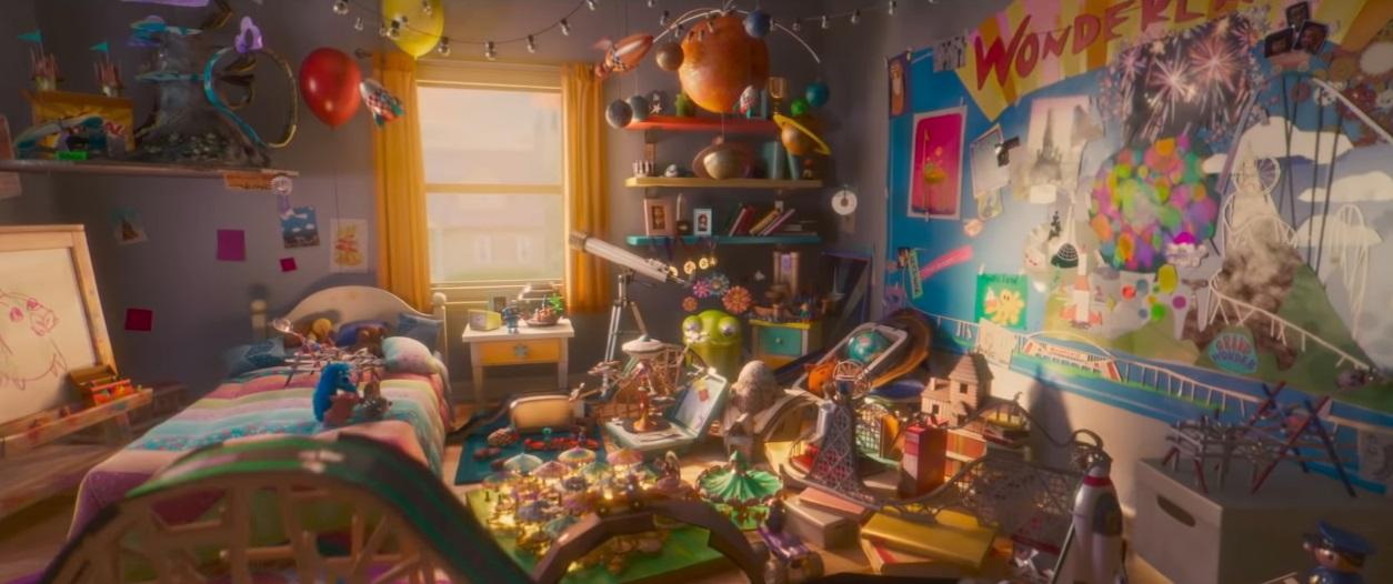 Wonder Park film di animazione 2019 - personaggi - frasi - trailer wonder park - paramount