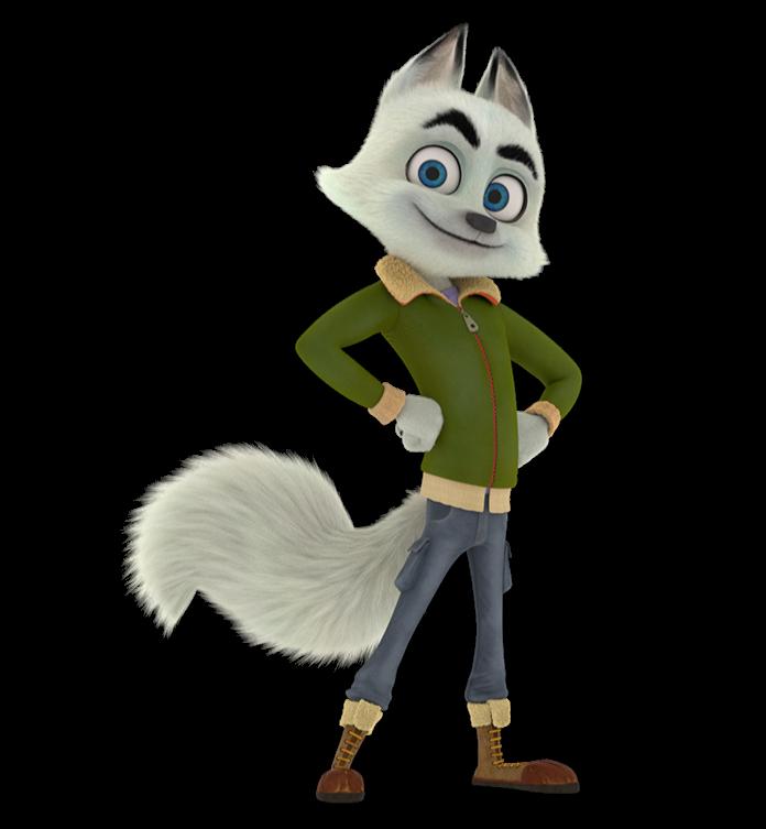 Arctic un'avventura glaciale - Personaggi Swift -  film di animazione 2020 film d'animazione per tutta la famiglia