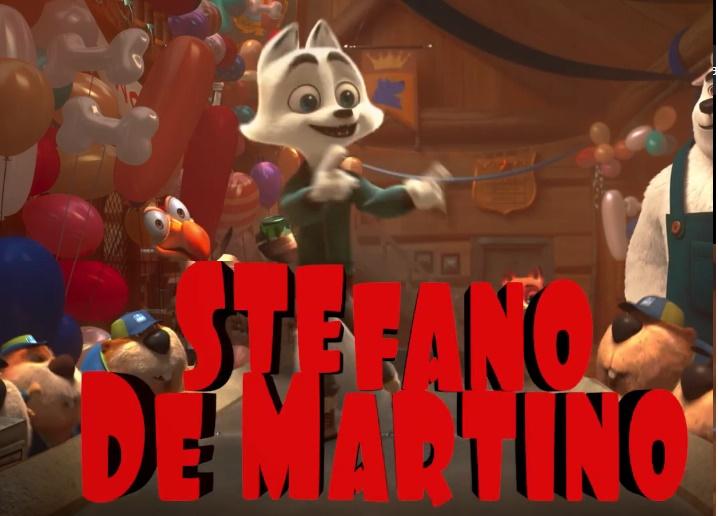 Doppiatori italiani Stefano De Martino - Arctic un'avventura glaciale - arctic dogs film di animazione