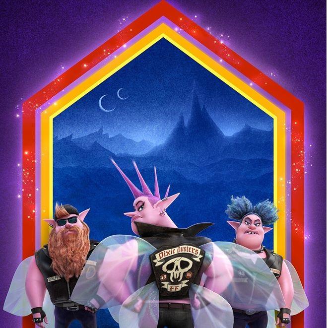 Onward Oltre la magia film di animazione cartoni animati Disney Poster personaggi protagonisti
