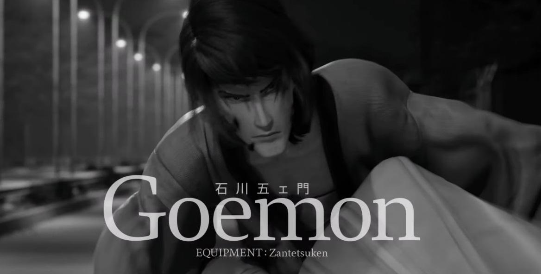 Personaggi Goemon - Lupin III the first film di animazione 2020 anime per la prima volta in CGI - Trailer