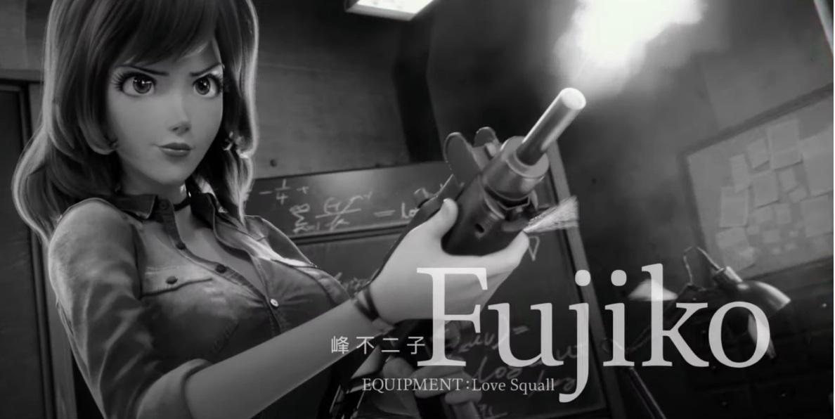 Personaggi Fujiko - Margot - Lupin III the first film di animazione 2020 anime per la prima volta in CGI - Trailer
