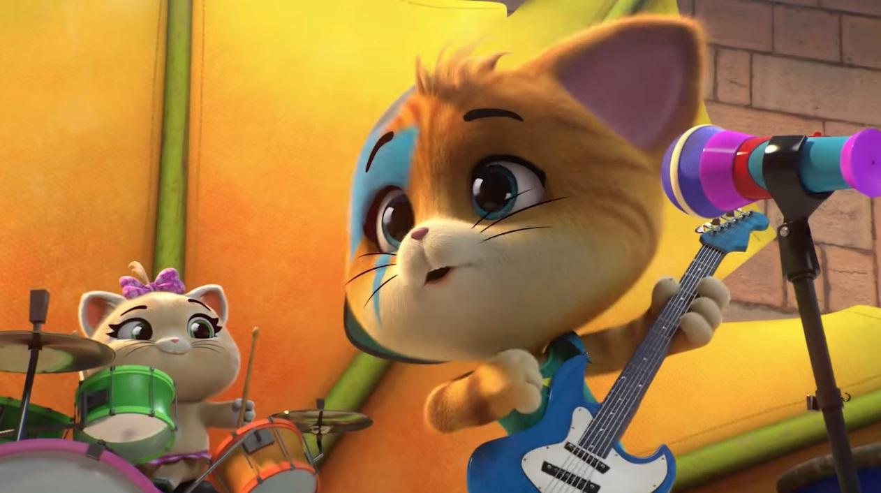 Cane e gatto cantata dai Buffycats - Cartoni animati