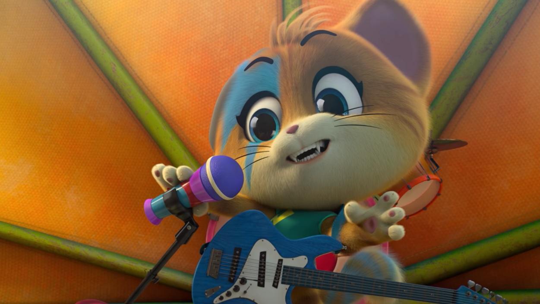 44 gatti - Lampo alla chitarra - buffycats  - cartone animato - serie tv - Rainbow - Rai Yoyo - Giffoni festival - 2018 - Zecchino d'oro - Antoniano Bologna