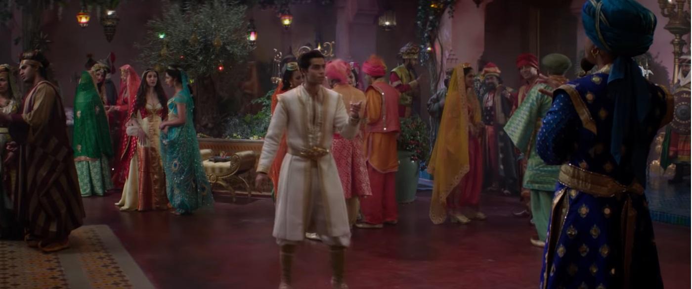 Il ballo Aladdin e Jasmine nel film disney live action 2019 aladdin