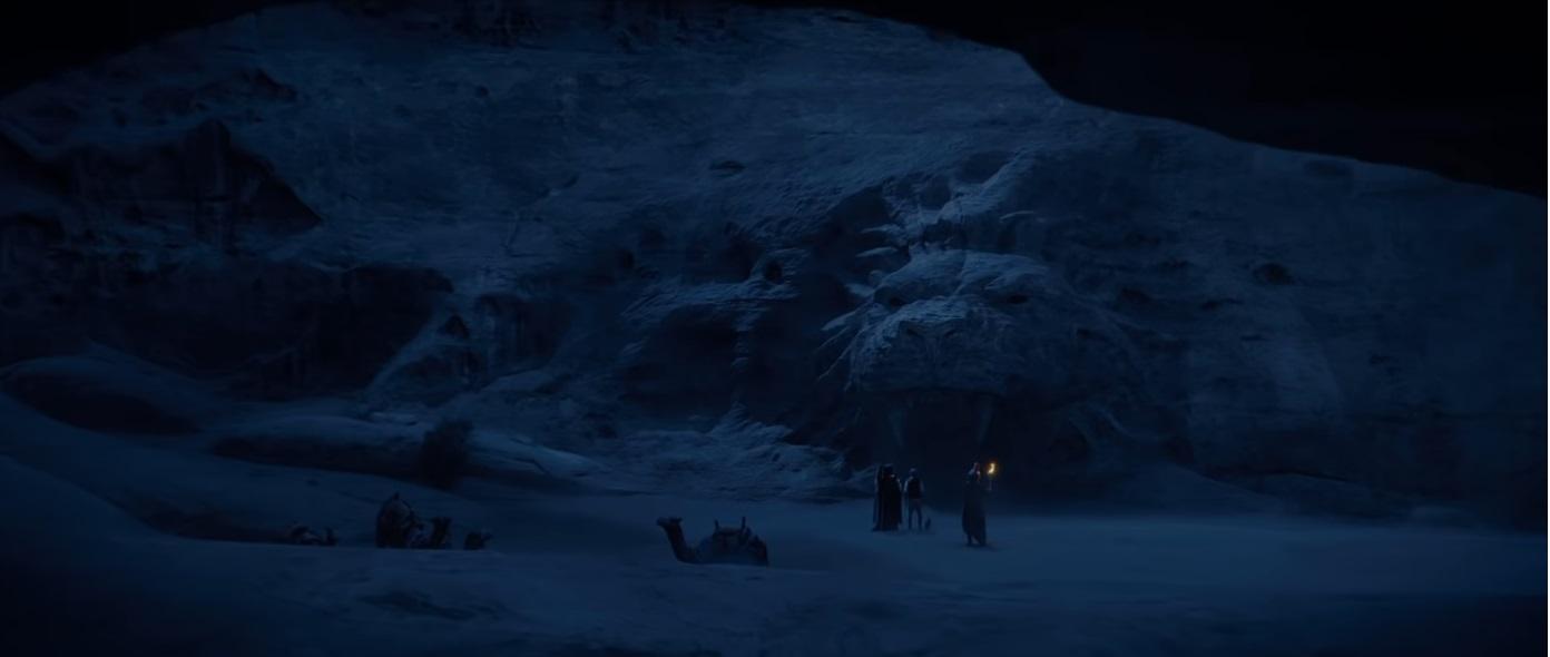 La caverna delle meraviglie nel film disney live action 2019 aladdin