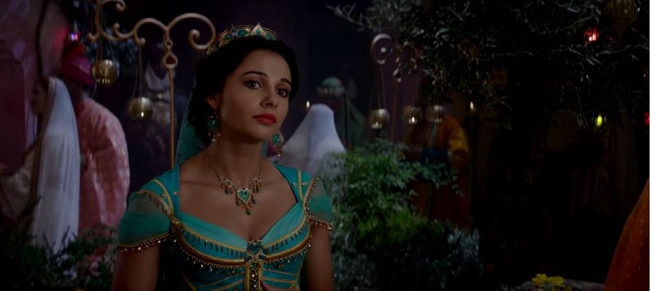 Aladdin film live action disney 2019 - Principessa Jasmine riceve i suoi pretendenti