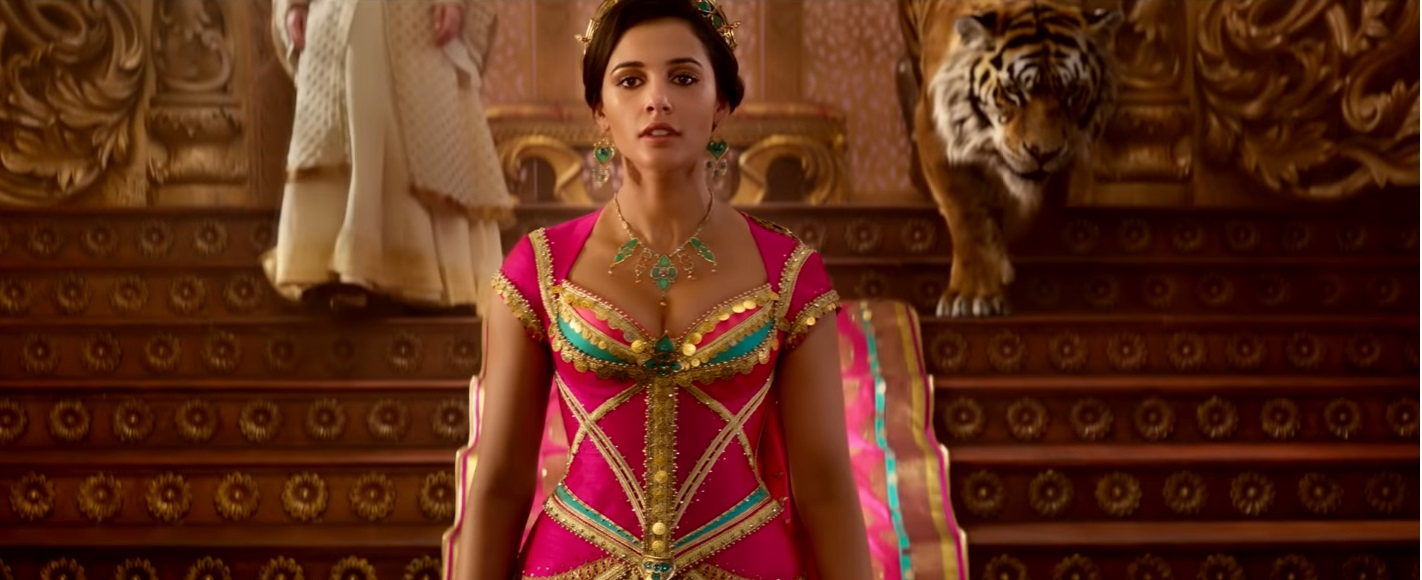 Aladdin film live action disney 2019 - Jasmine rcevimento