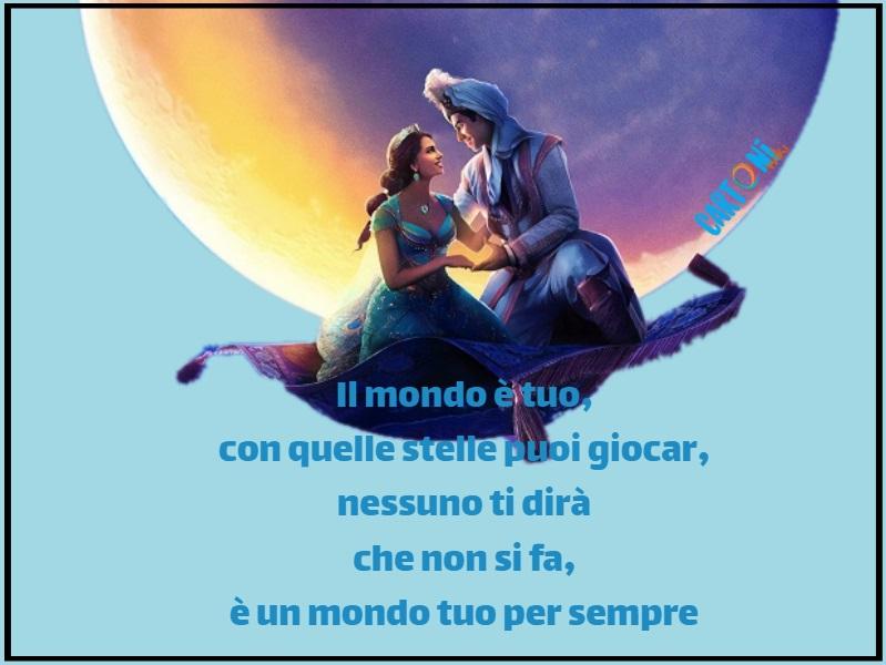Aladdin - Il mondo è mio - Cartoni animati