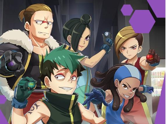 Il Team EXIT - Bakugan Battle Planet - Anime Cartoon Nerwork serie tv