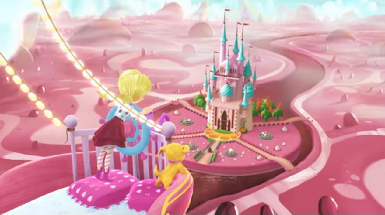 Barbie Dreamtopia cartone animato serie web Chelsea Mattel