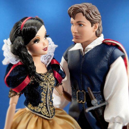 Disney Store bambola Biancaneve con Principe Fairytale edizione limitata - Cartoni animati