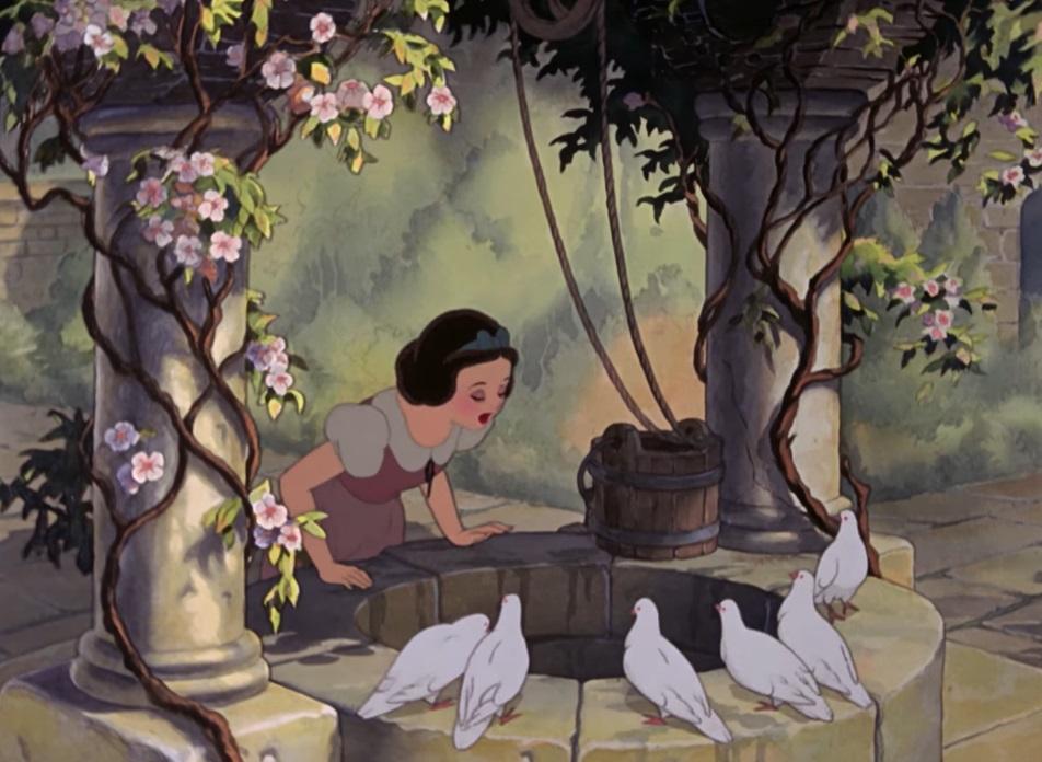 Biancaneve la canzone del pozzo cartoni animati