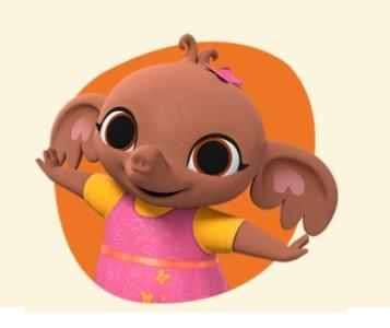 Bing -personaggio Sula -cartone animato bambini età prescolare rai yoyo - cartoni - coniglio