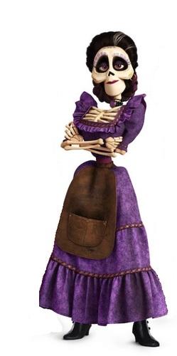 Coco Pixar Disney film di animazione 2017 personaggio Imelda Riveira personaggi cartoni animati