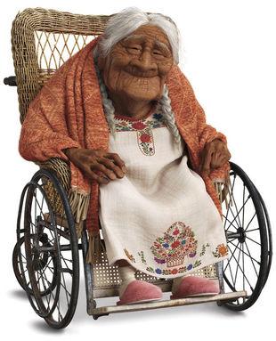 Coco Disney Pixar film d'animazione 2017 personaggio Nonna Coco
