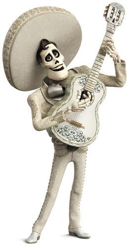 Coco Disney Pixar Film di animazione 2017 personaggi Ernesto de la cruz