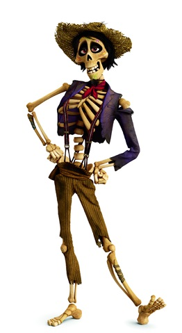Coco Pixar Disney film d'animazione 2017 personaggio Hector Scheletro personaggi