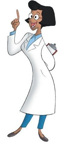 Curioso come George - Personaggi - Professoressa Wiseman scienziata  - Curious George - cartoni animati - Scimmia