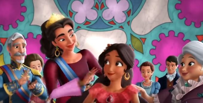 Elena di Avalor Amuleto in regalo il sedicesimo compleanno - cartone animato Disney Principesse Principessa latina