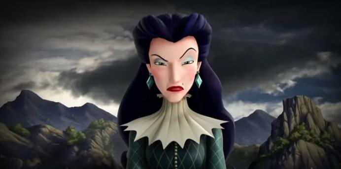 Elena di Avalor Strega Shukiri cattiva cartone animato disney principessa