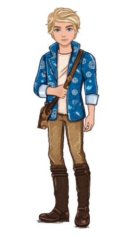 Ever After High  personaggio cartone animato Alistair Wonderland figlio di Alice nel paese delle meraviglie - REale