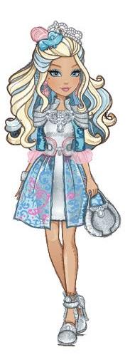 ever after high Darling Charming sorella di Dexeter figlia principe azzurro ribelle cartoni animati serie web