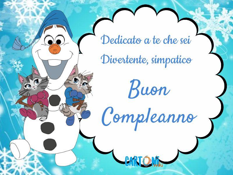 Buon Compleanno con Olaf - Buon compleanno