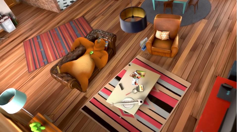 Grizzy e i lemming cartoonito cartoni animati orso cartone animato