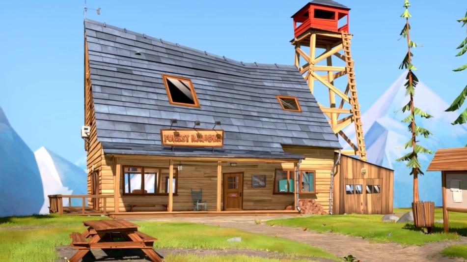 Grizzy e i lemming Casa Canada Ranger cartoonito cartoni animati orso cartone animato