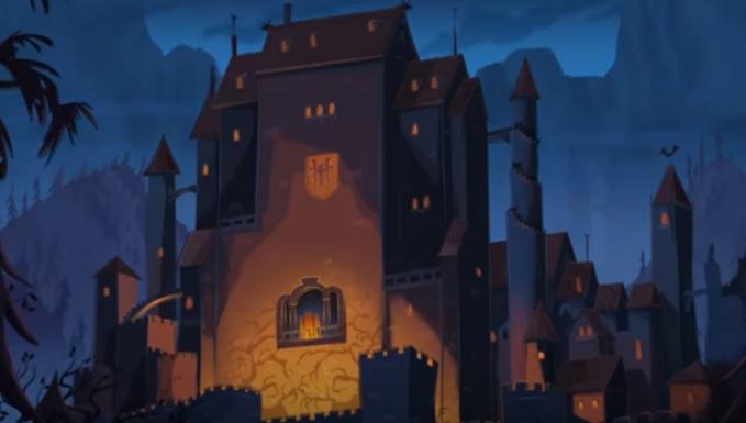 Hotel Transylvania come è nato l'albergo dei mostri Drac Mavis Hotel Transylvania la serie cartoni animati Disney Channel