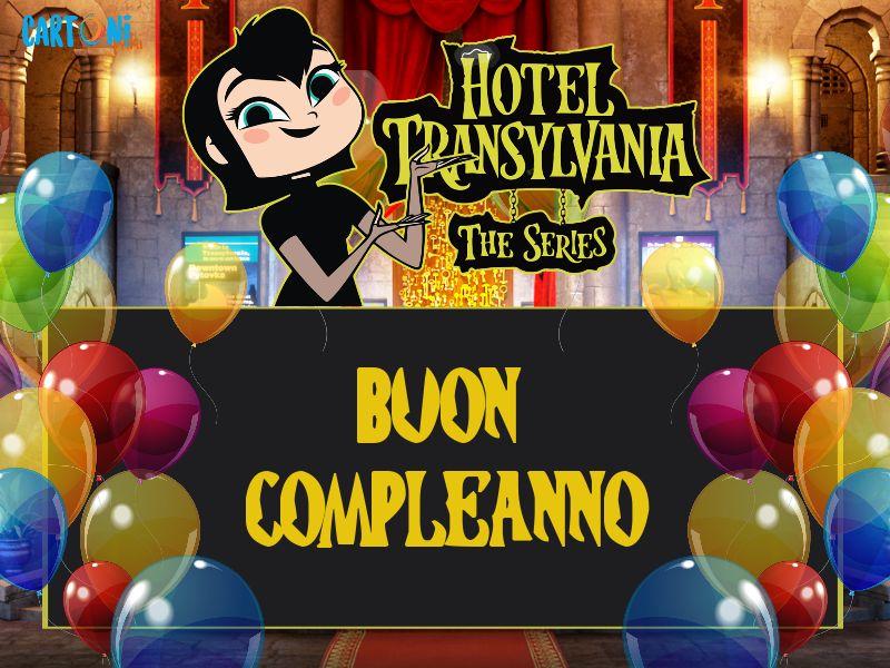 Hotel transylvania buon compleanno cartoni animati