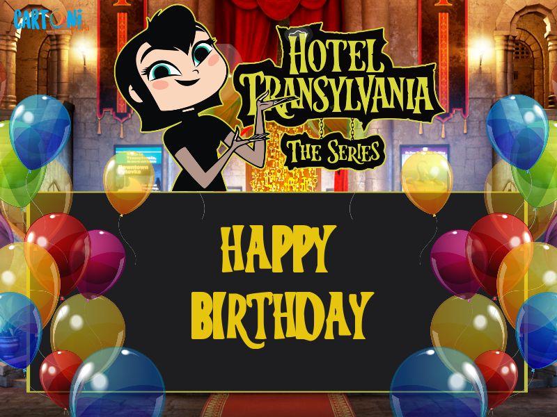 Hotel Transylvania Happy Birthday - Biglietti di auguri