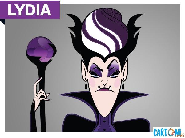 Lydia personaggio del cartone animato Hotel Transylvania la serie personaggi cartoni Disney Channel