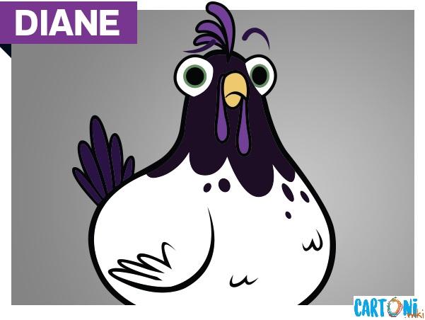 Diane personaggio del cartone animato Hotel Transylvania la serie