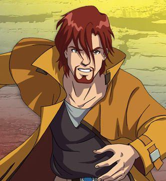 Huntik personaggio Dante Vale cartoni animati Rainbow