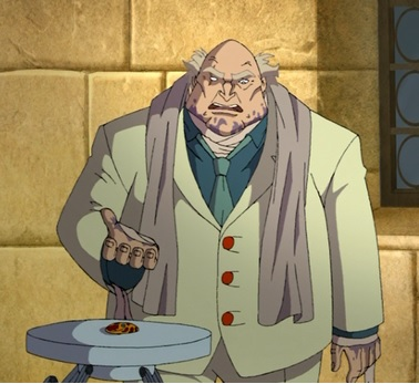 Huntik personaggi organizzazione cartoni animati professore capo Rainbow