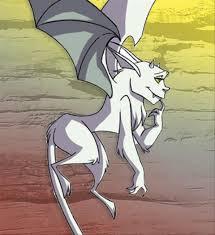 Hunti personaggi Cherit demonio Titan cartoni animati