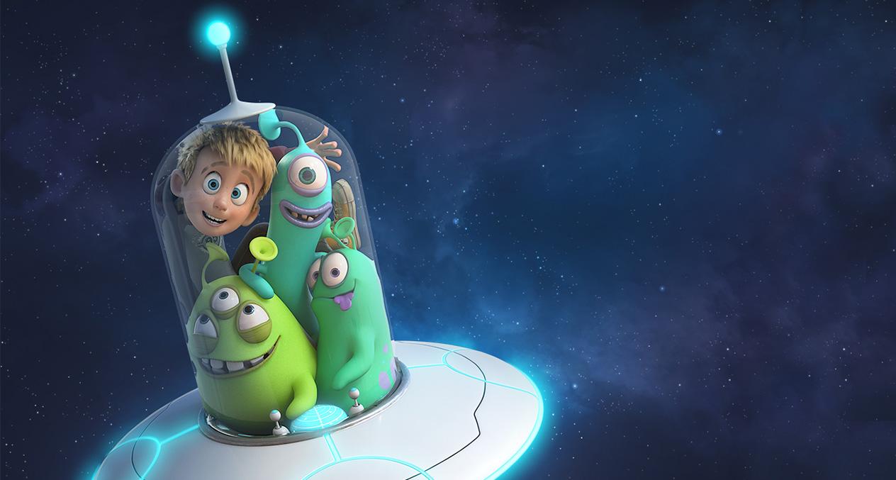 Luis e gli alieni film di animazione 2018 al cinema l'11luglio