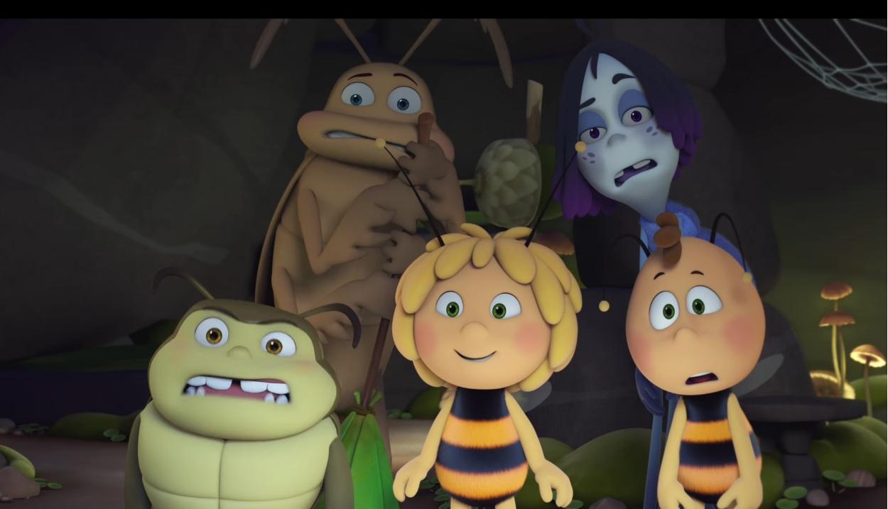 L Ape Maia le olimpiadi di miele - Film di animazione 2018 - Personaggi - Studio 100 - Koch Media - Cartoni animati