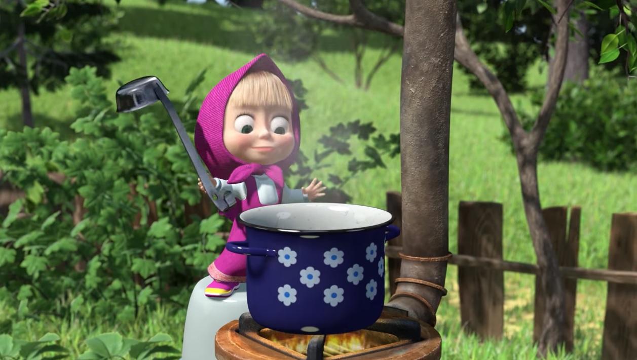 Masha Cuoca perfetta - Cartoni animati