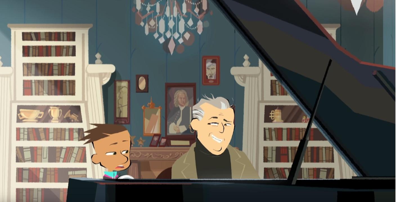 Max & maestro cartoni animati musica Rai Gulp Daniel Barenboim