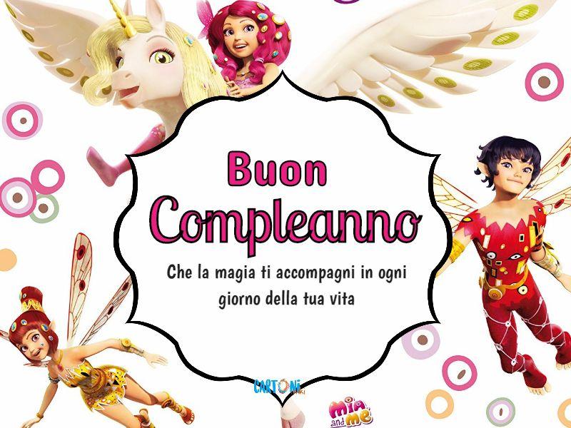 Buon Compleanno da Mia - Cartoni animati
