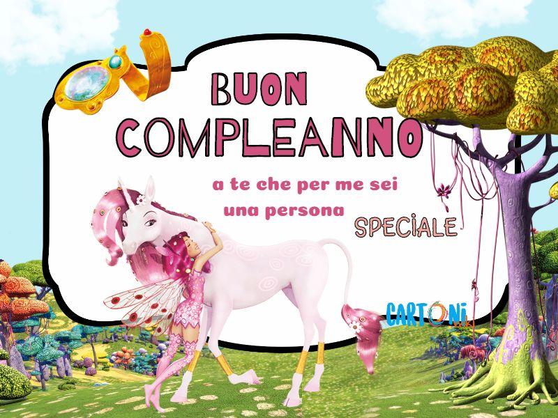 Buon Compleanno a te da Mia - Cartoni animati